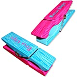 Clothes Pin BocaClips by O2COOL, Beach Towel Holders, Clips, Set of two, Beach, Patio or Pool Accessories, Portable Towel Clips, Chip Clips, Secure Clips, Assorted Styles