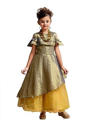 Adiva Vestido De Fiesta Para Niña Verde Verde 5 6 Años