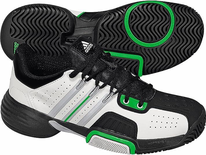 Adidas - Zapatillas de tenis para niña negro negro, color Multicolor, talla 2.5 UK: Amazon.es: Deportes y aire libre