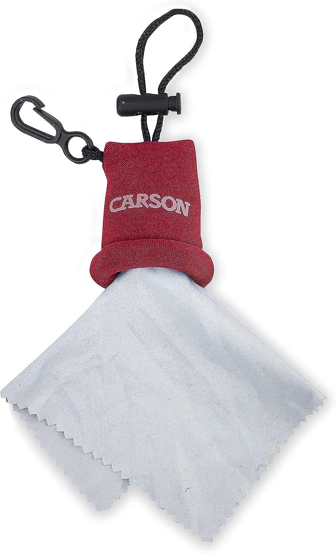 Carson Pa/ño de Microfibra Stuff-It para Limpiar Lentes y Pantallas Amarillo