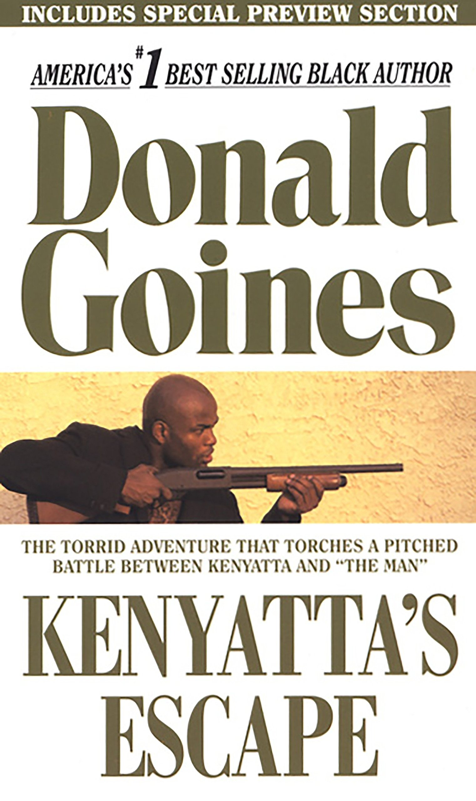 KENYATTA'S ESCAPE (Holloway House Originals): Amazon.co.uk: Donald Goines:  9780870678837: Books