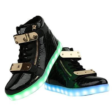 FAZ 3 Branded LED Light up shoes Black 8d7ceebac6