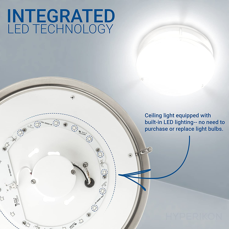Hyperikon LED Flush Mount Ceiling Light, 10\