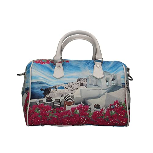 Borsa Y Not bauletto Santorini 318  Amazon.it  Scarpe e borse 906b7695ffc