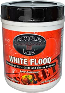 Controlled Labs, White Flood Furious Fruit Punch 1.49 lbs