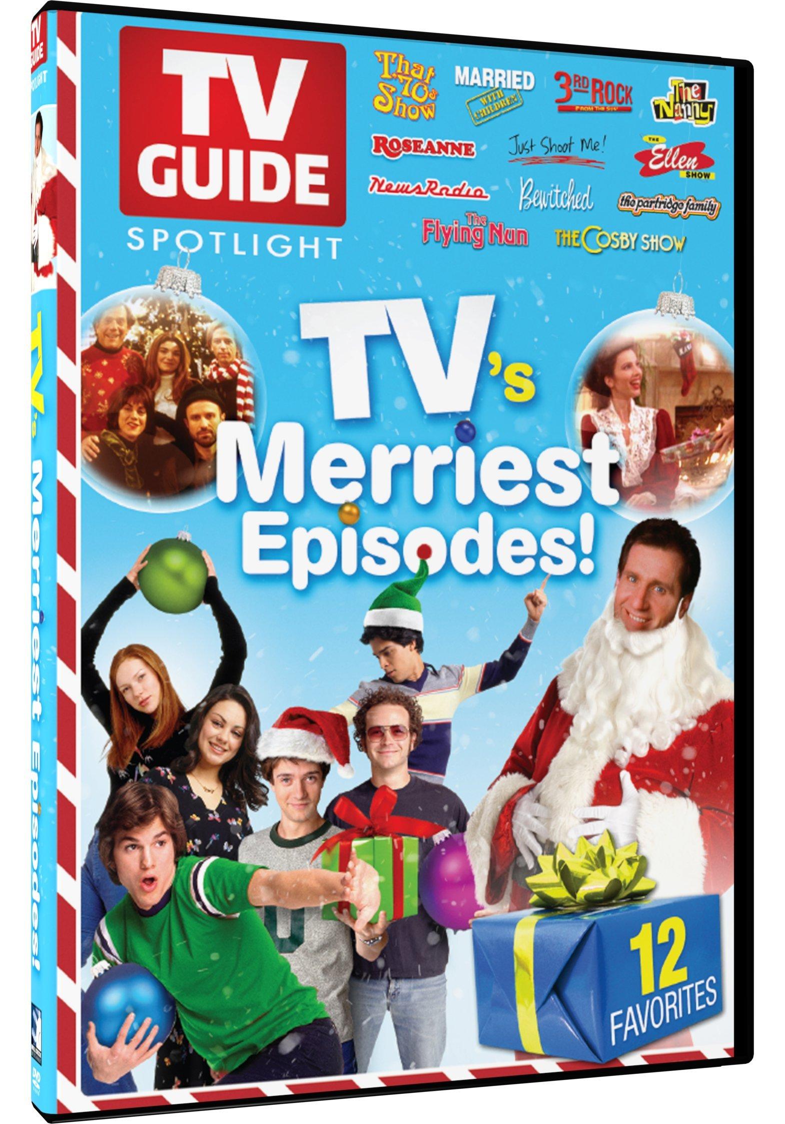 TV Guide Spotlight: TV\'s Merriest Holiday Episodes (DVD)