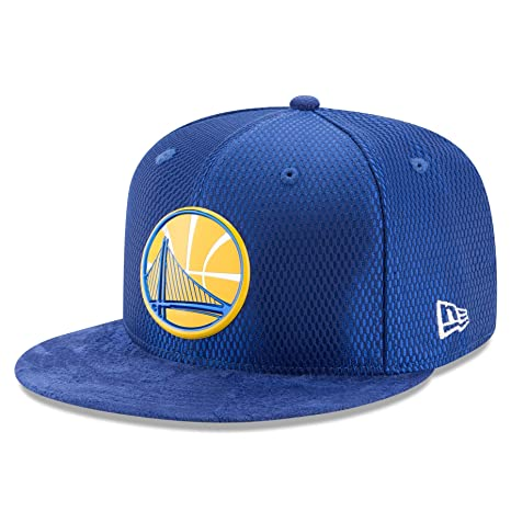 half off 73412 e6a2a New Era Golden State Warriors 2017 NBA Draft Official On Court Collection  59FIFTY Fitted Hat -