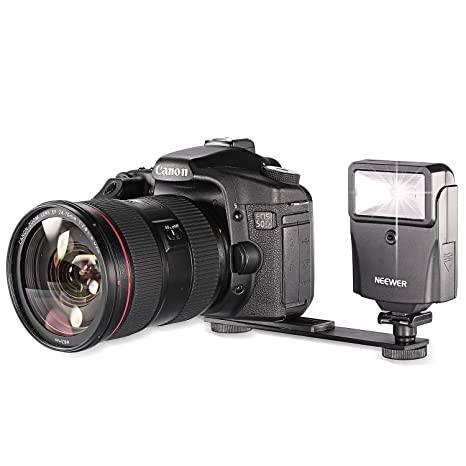 Neewer - Juego de flash digital con soporte para cámaras réflex ...