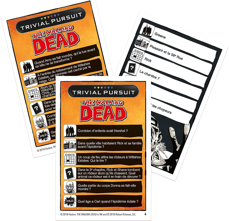 Trivial Pursuit The Walking Dead - Formato de Viaje - Juego de Mesa: Amazon.es: Juguetes y juegos