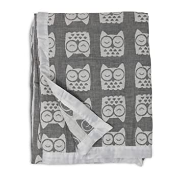 Amazon.com: Living Textiles - Mantas de muselina jacquard ...