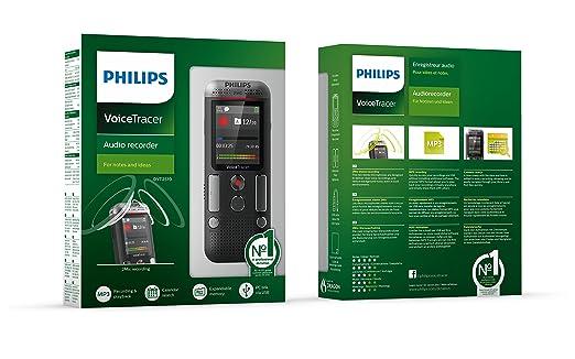 Philips DVT 2510 - Grabadora de voz profesional: Amazon.es: Oficina y papelería