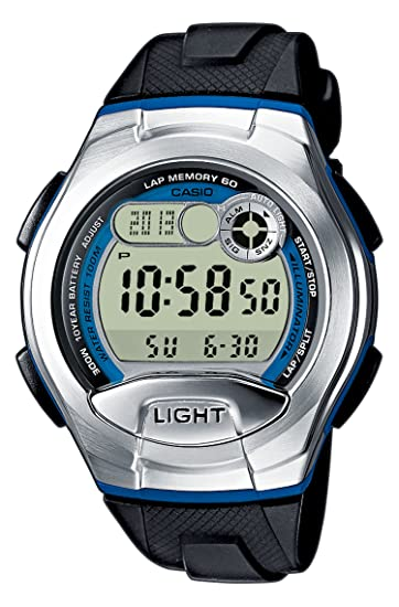 Casio Reloj Digital para Mujer de Cuarzo con Correa en Resina W-752-2BVES: Amazon.es: Relojes
