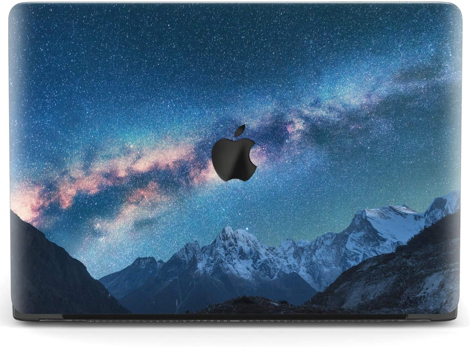 Mertak Hard Case Compatible with MacBook Pro 16 Air 13 inch Mac 15 Retina 12 11 2020 2019 2018 2017 Protective Night Sky Shell Cover Touch Bar Landscape Milky Way Clear Girly Mountains Print Scenery