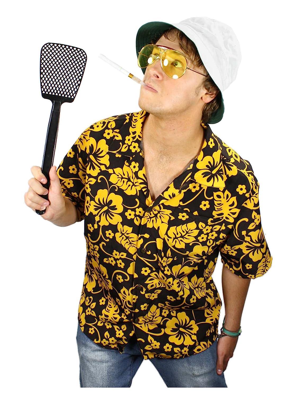 Amazon.com Largemouth Raoul Duke Fear and Loathing Costume Kit Clothing  sc 1 st  Amazon.com & Amazon.com: Largemouth Raoul Duke Fear and Loathing Costume Kit ...