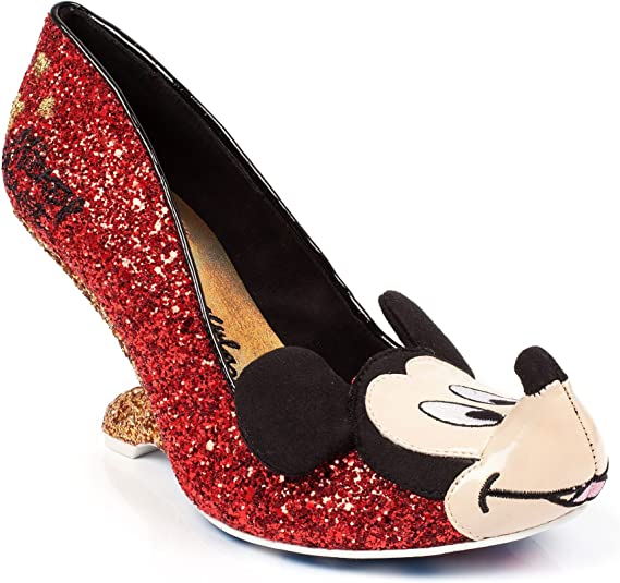 Irregular Choice Disney Oh Boy Glitter