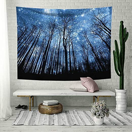 Scenery Forest Trees Hanging Tapestry Blanket Wall Hanging Tapestries Home Decor