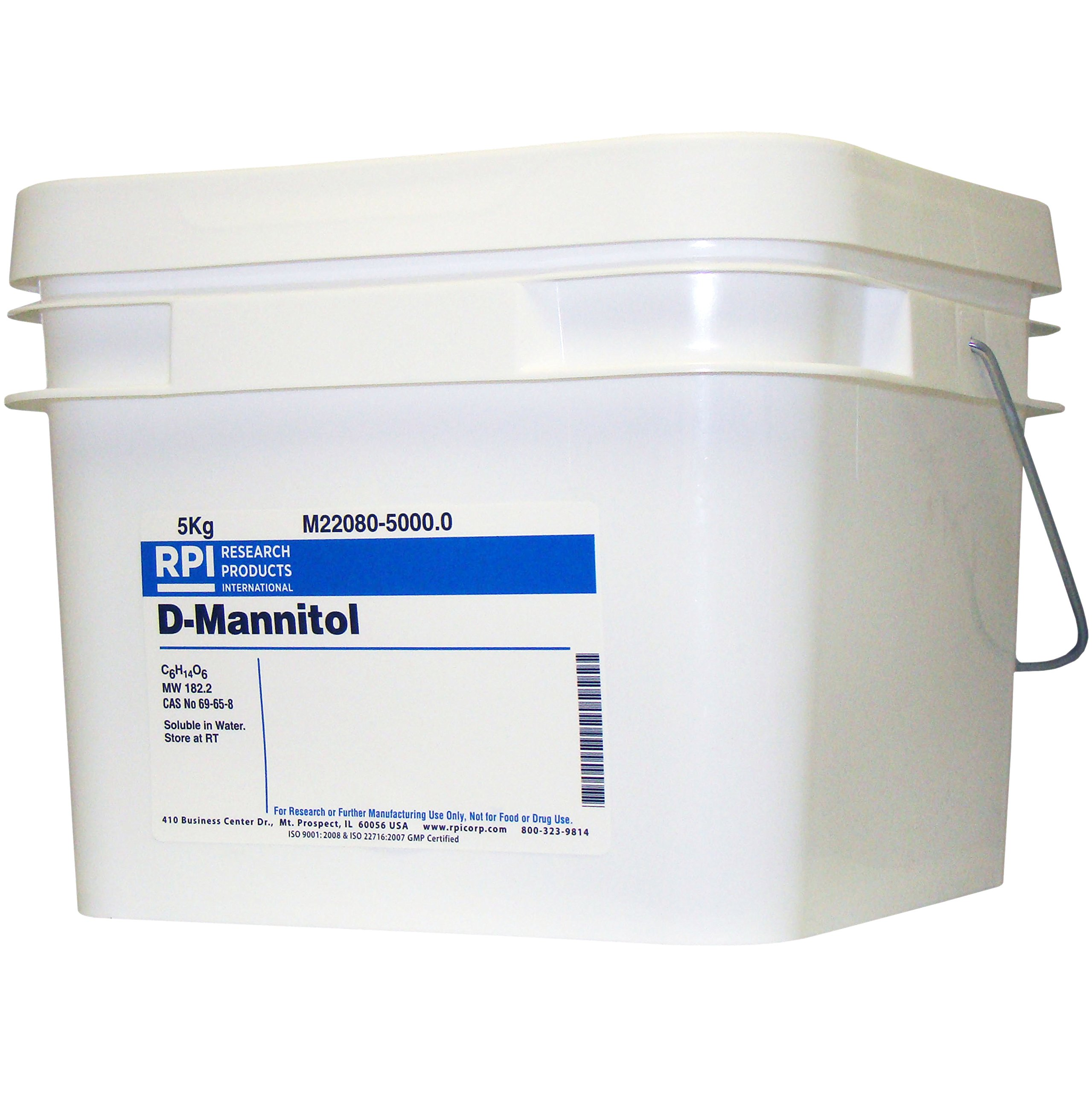 D-Mannitol, 5 Kilograms by RPI (Image #1)
