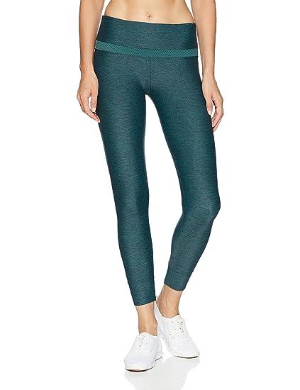 b730b23d8abd0 Lorna Jane Women's Flexion Core Ankle Biter Tight, Jungle Green Marl,  XX-Small