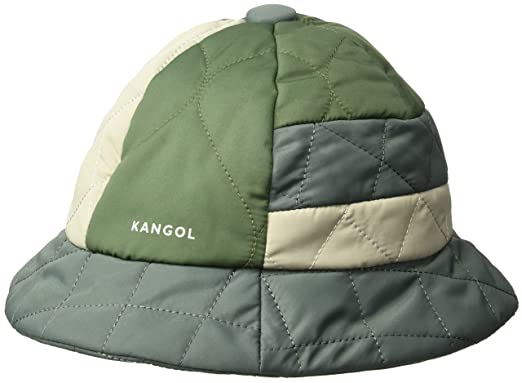 f0339602ae19af Kangol Men's Quilted Mix Casual Bucket Hat at Amazon Men's Clothing ...