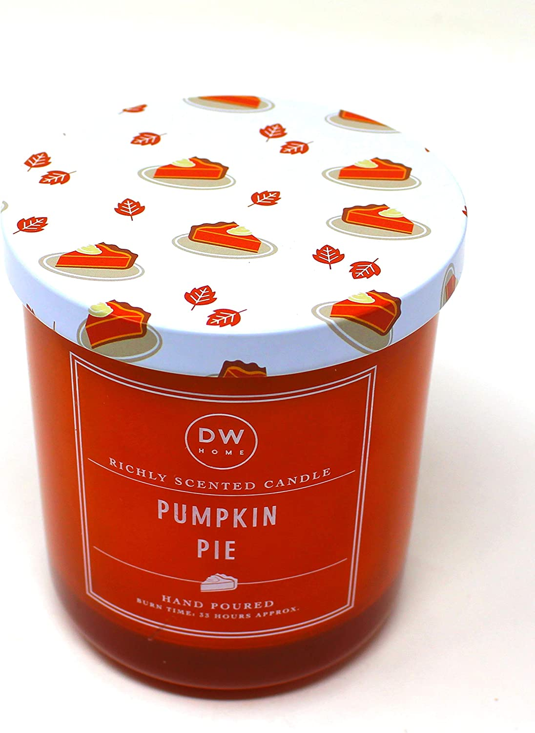 DW Home Richly Scented Limited Edition Pumpkin Pie Hand Poured Candle 9.1 oz