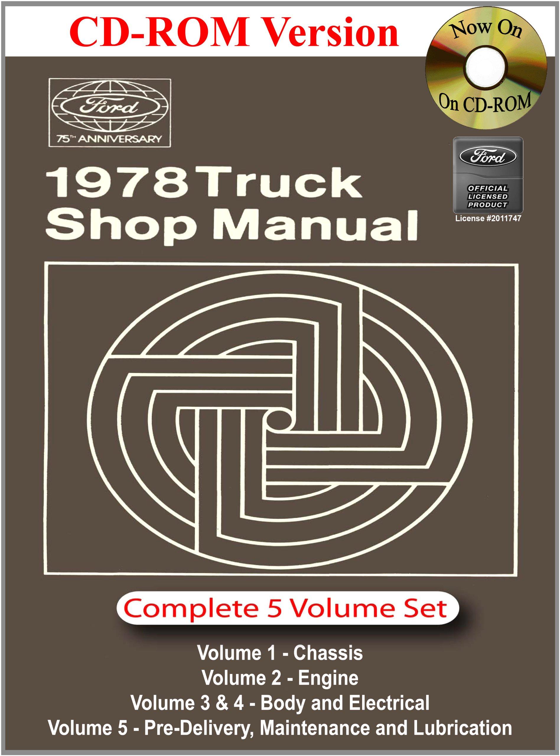 1978 ford truck shop manual ford motor company david e leblanc rh amazon com 2013 Ford F-150 Manual Ford F-150 Repair