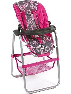 Bayer Chic 2000 655 87 - silla para muñecas, perlas rosadas calientes
