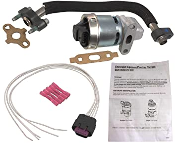 apdty 112800 egr upgrade kit includes new egr valve tube gasket s rh amazon ca Silverado GM EGR Valve GM EGR Valve and Perch