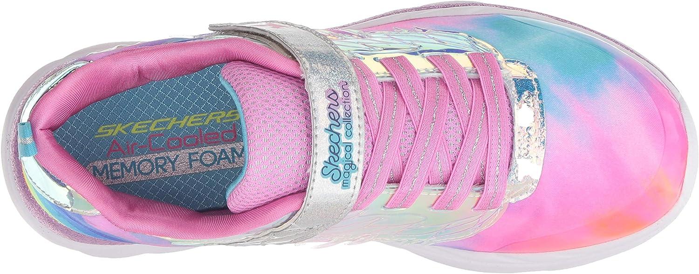 Skechers Baskets pour Fille 81426L en Nylon avec Semelle