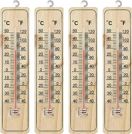 02 Piezas 26x5 5x1cm Com Four Termometros De Madera 2 Para Interiores Y Exteriores De Madera Con Grados Celsius Y Grados Fahrenheit Termometros E Instrumentos Meteorologicos Jardin Resta la cantidad que se quiera transformar con 32. ceia san luis