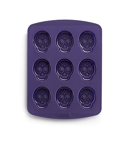 Lékué Calavera Loca - Molde para bombones, diseño de calavera y juego inspirado en la