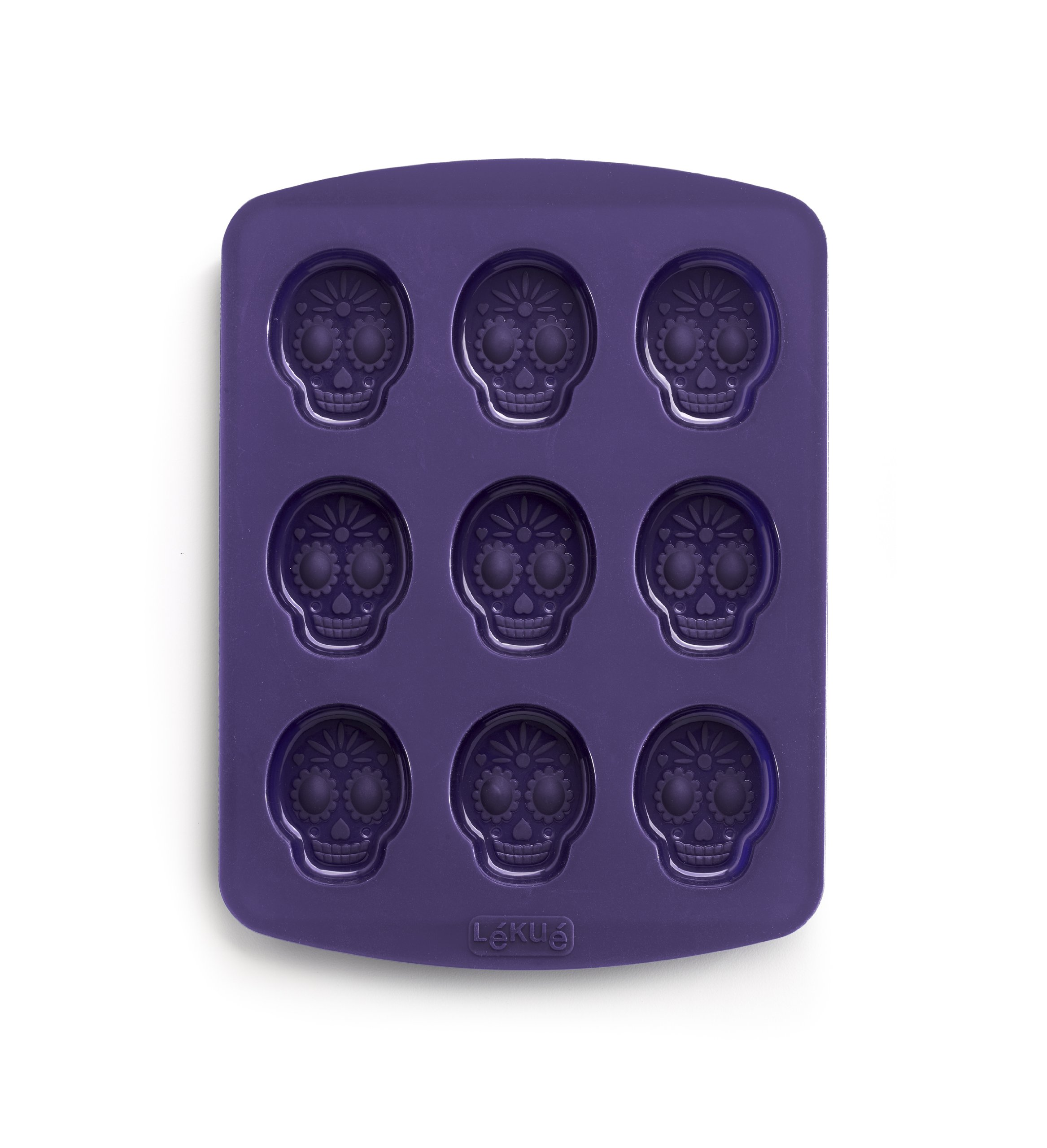 Lekue Crazy Skull Game Mold