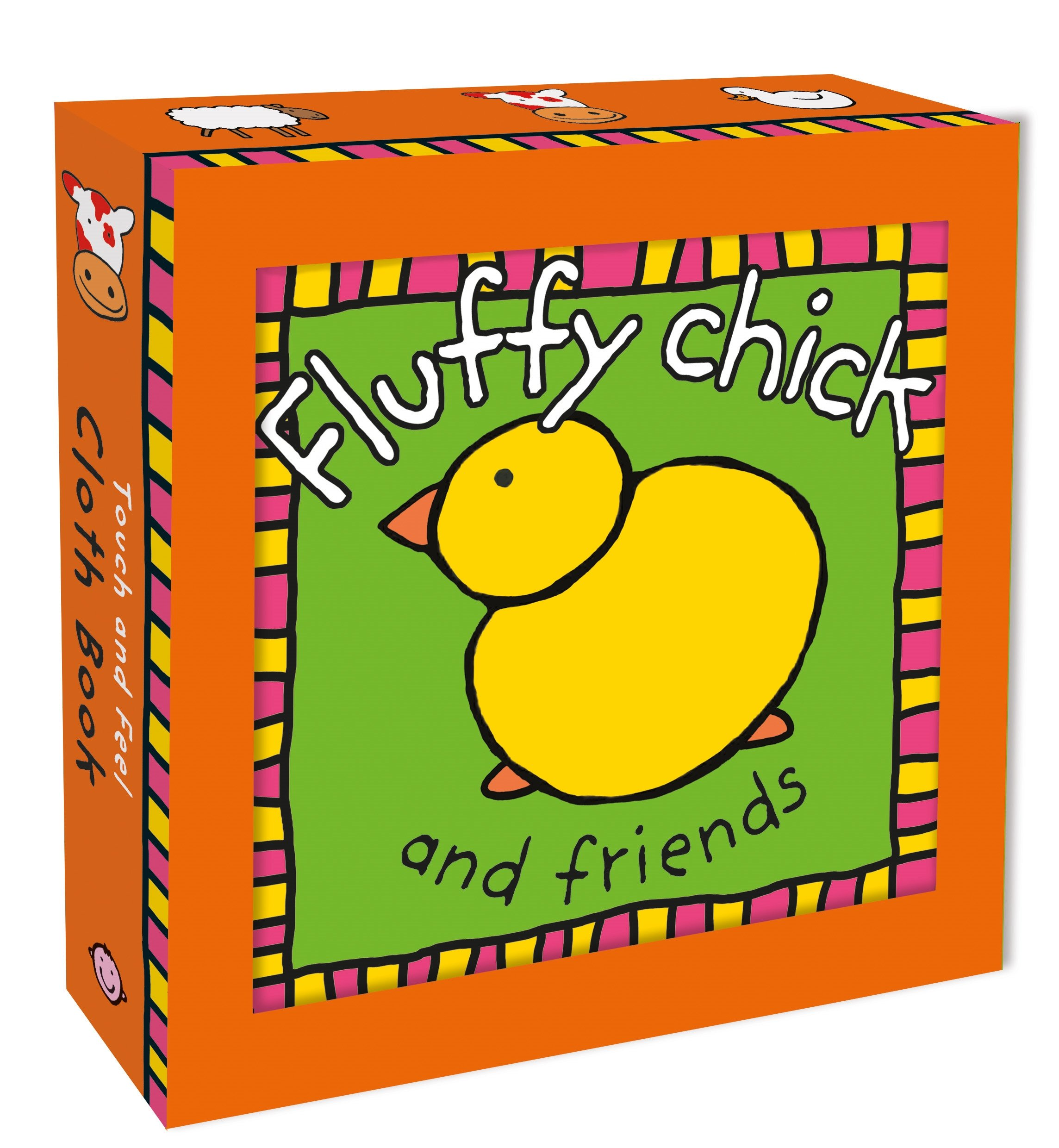 Fluffy Chick Friends Touch Cloth