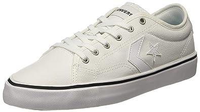 Converse Unisex s White sneakers-10 UK India (44 EU) (8907788162062) 6aebd625b