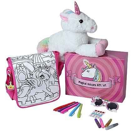 Amazon.com: Juego de regalo de unicornio mágico con ...