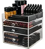 Acrylic Makeup Organizer Cube   Cosmetics and Jewellery Storage Solution   by N2 Makeup Co