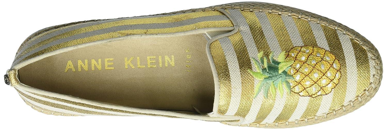 Anne Klein Women's Zarenna 11 Slip Ballet Flat B078NM8M7H 11 Zarenna B(M) US|Bronze Natural Fabric 30f734