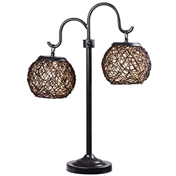 Kenroy Home 32245brz Castillo Outdoor Table Lamp Bronze Finish