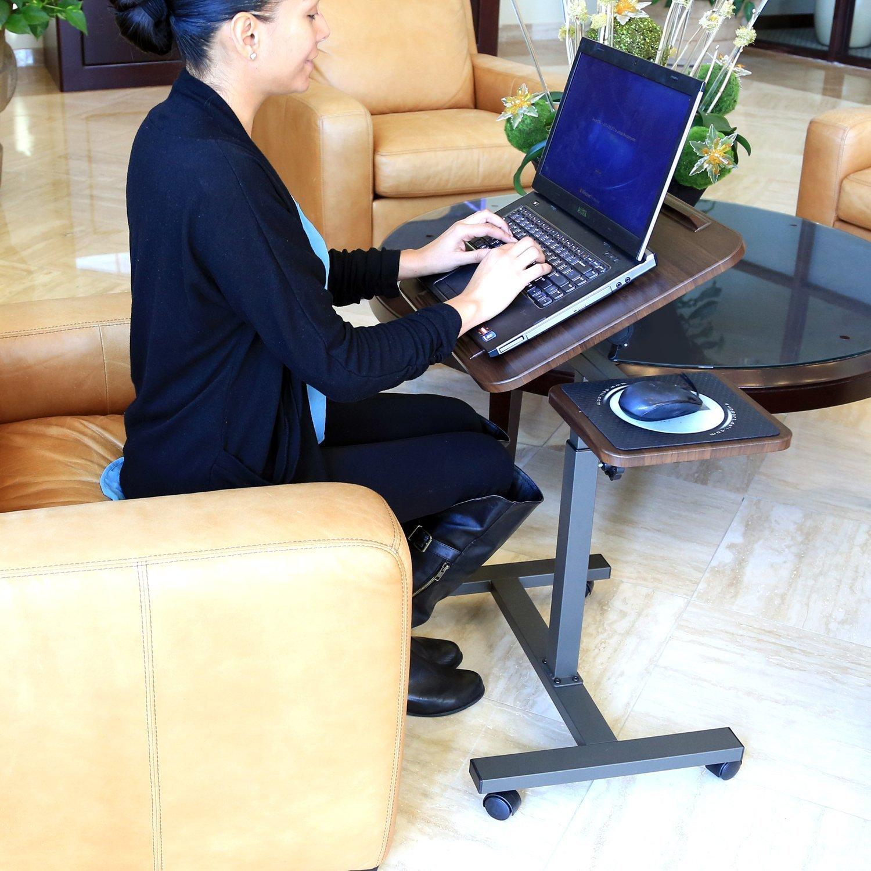 best computer desks - laptop cart