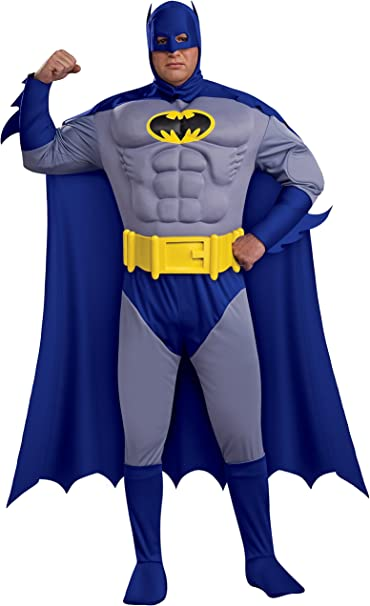 Amazon.com: Rubies Bold and The Brave, Muscle Chest Batman ...