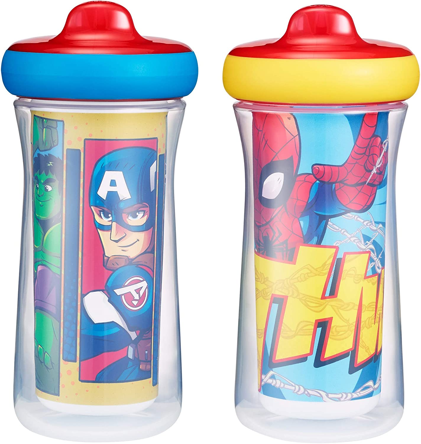 The First Years Marvel Superhero Sippy Cups