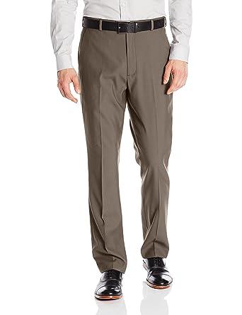 d5044adece9 Perry Ellis Men s Portfolio Modern Fit Flat Front Bengaline Pant at ...