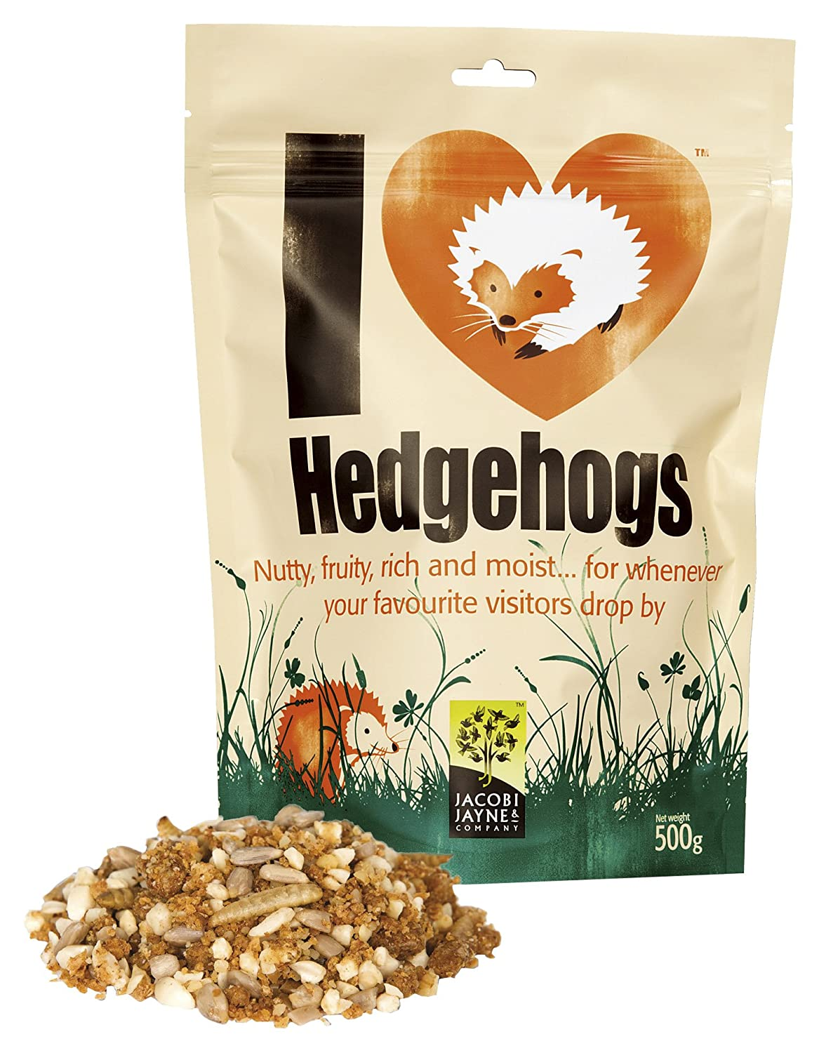 I Love Hedgehogs - Hedgehog Food- 2kg bag Jacobi Jayne
