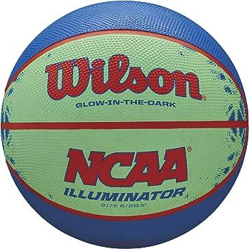 Amazon.com: Wilson NCAA Illuminator brilla en la oscuridad ...