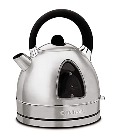 Cuisinart DK-17 Cordless Stainless Steel Electric Kettle Kettles at amazon