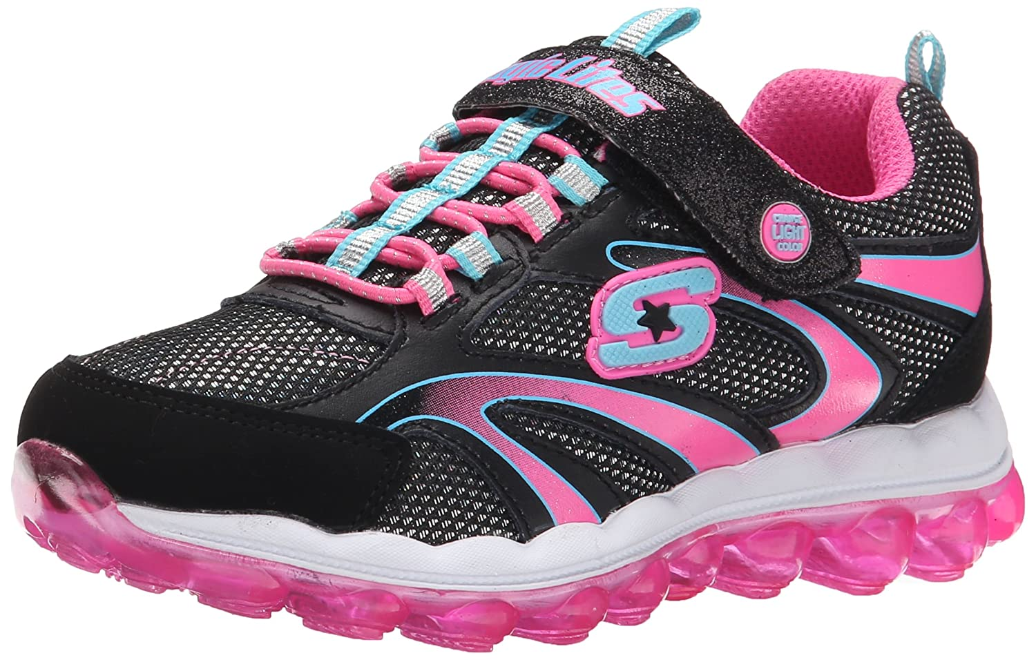 Amazon.com | Skechers Kids Skech Air Magic Lites Light-Up Sneaker | Sneakers