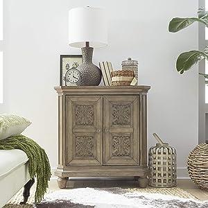 Liberty Furniture Industries Laurels Chest, Door Bedside, Brown