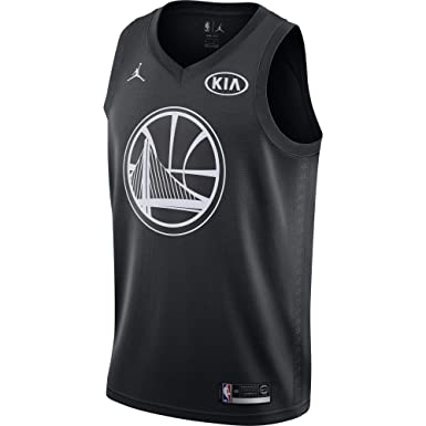 13974d2ea Image Unavailable. Image not available for. Color  Nike Men s Jordan Brand Kevin  Durant Golden State Warriors Black Swingman 2018 All-Star Game
