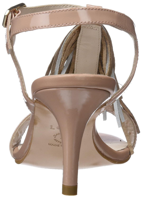 Lodi Damen (Charol Jaspe Knöchelriemchen Sandalen Pink (Charol Damen Rubor Rubor) 78447f