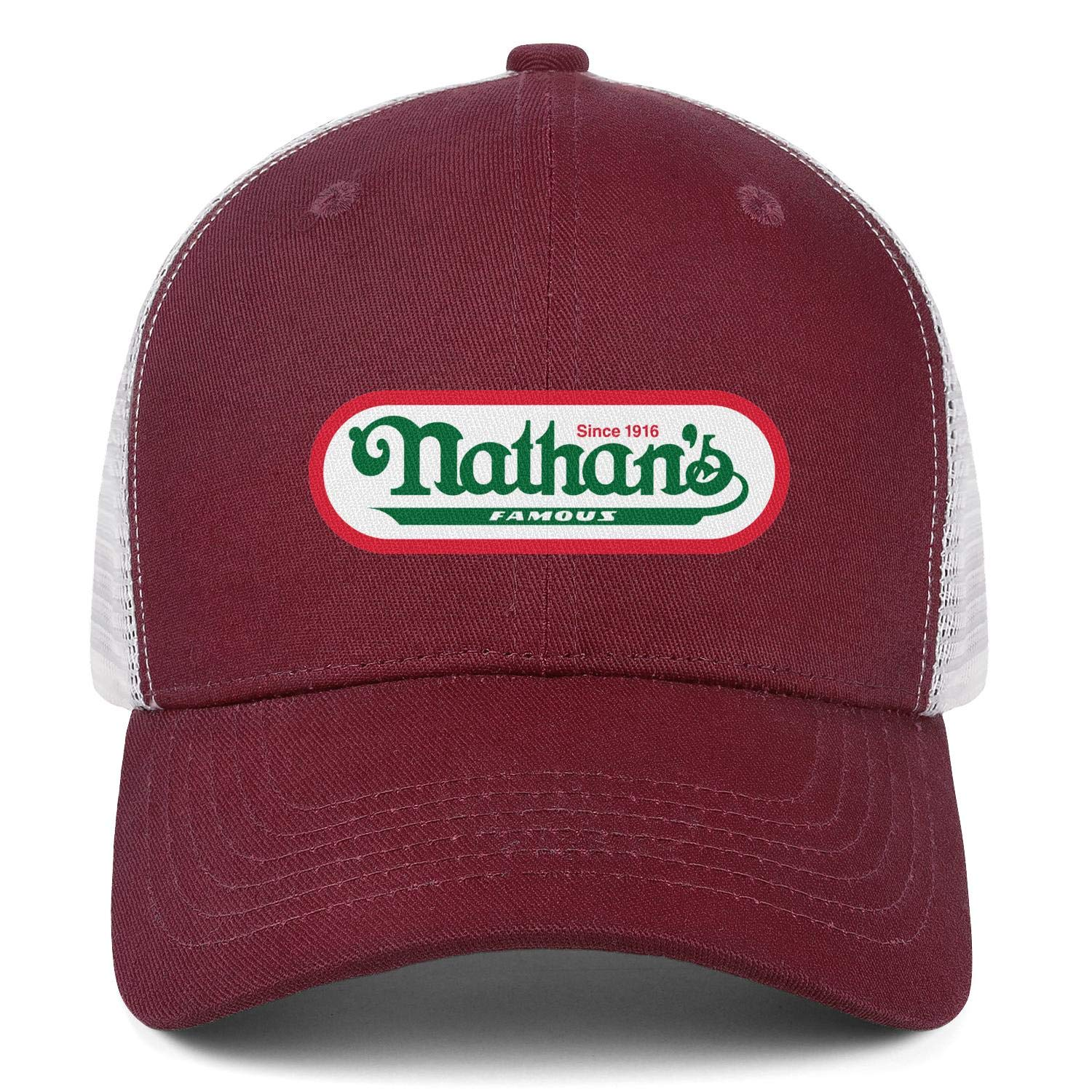 WintyHC Nathans Famous Logo Cowboy Hat Bucket Hat One Size Gas Cap