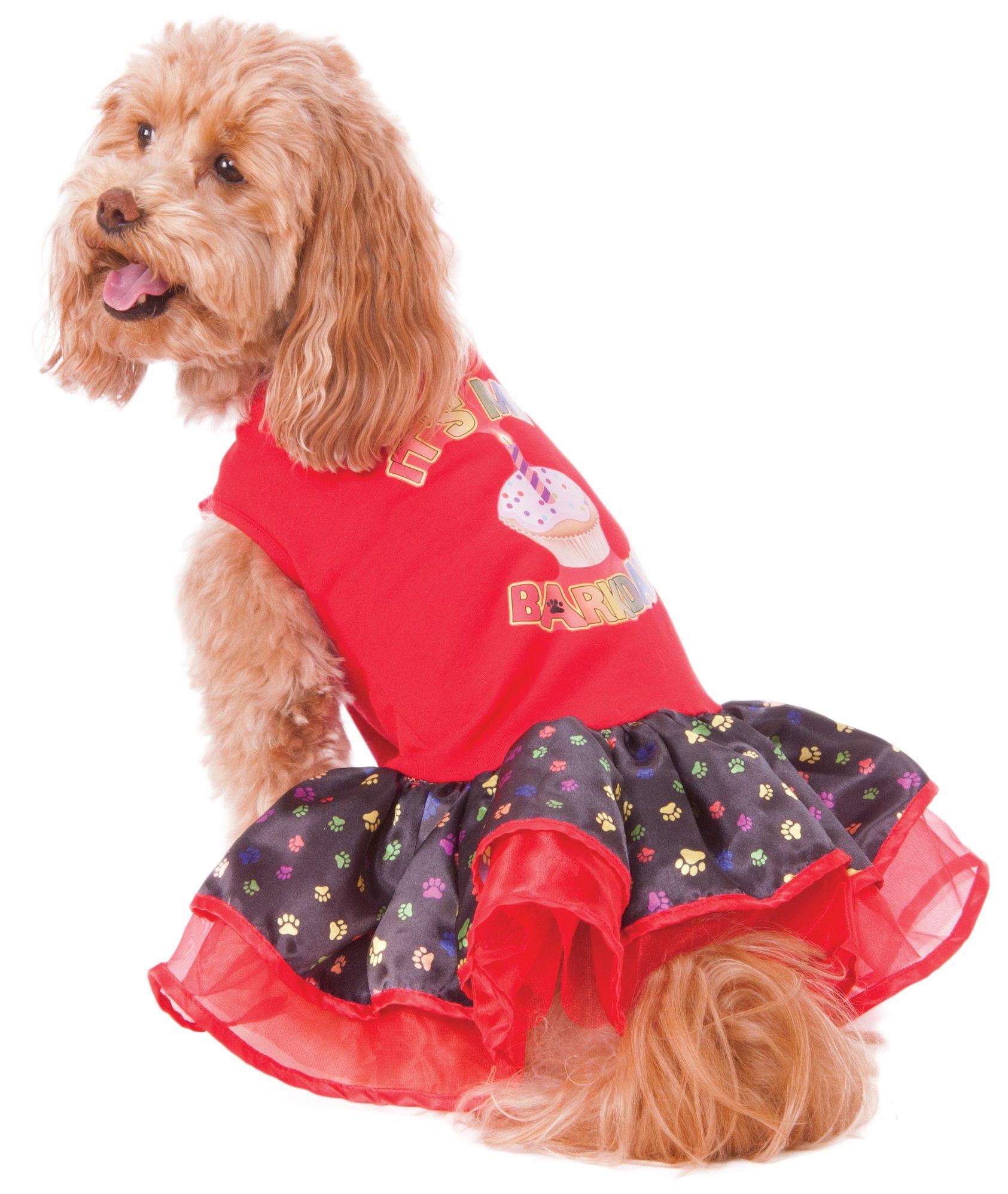 Rubie's Barkday Pet Tutu Dress, Medium, Multi-Colored by Rubie's